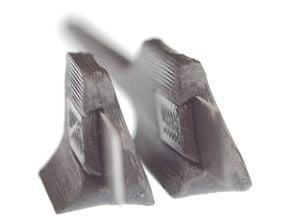 Ergonomic nano knife for Snap-Off Blade