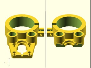 Cyclone PCB 52mm reinforced spindle mount