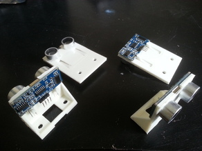 HC-SR04 Ultrasonic Sensor Mounts