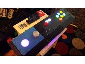GRS Trackball and Spinner Control Panel