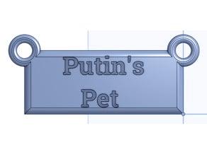 Putin's Pet hanging sign