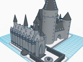 Hogwarts School of Witchcraft and Wizardry (Castle Part 1 of 3) - Harry Potter 3D Print