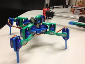 3DOF Mini Quadruped