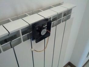 fan heater, radiator