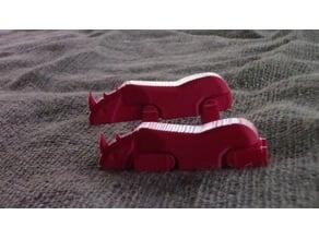 Rhino (movable legs)