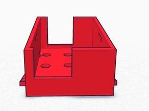 Mobius inclined support for Porkette frame