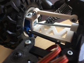 Open RC Truggy Front for small wheel diameters