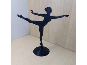 Ballerina Jewelery Stand