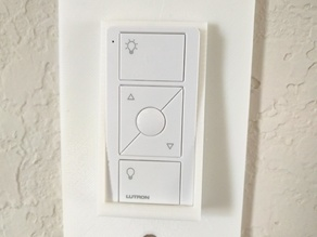 Lutron Pico Remote Mounting Plate