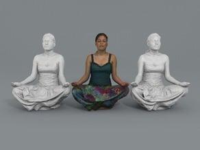 Verónica - Lotus pose