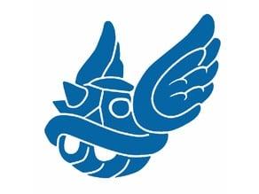 Blue Turtle Shell stencil