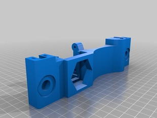 Single piece Y ends for Prusa i3
