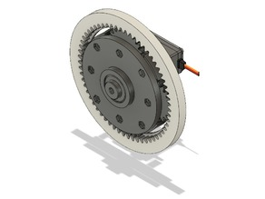 Planetary gear - 0,267 x for MG995 servo