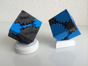 Stand for Cube Gears by Emmet