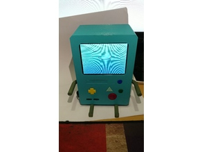 BMO in Adventure time, powered by raspberry pi 3 and google assistant