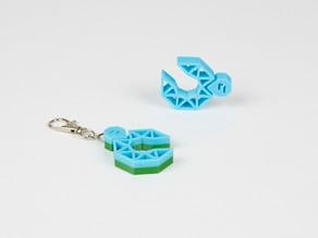 Vertex Nano keychain