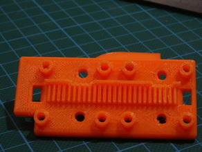 X axis Belt Clamp for Flsun Cube