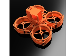 CrissCross FPV Cinema Tankette Full frame 3d model