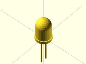 Parametric OpenSCAD LED Module