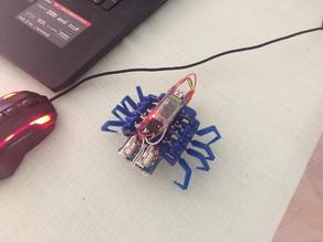 8 legged spider robot