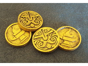 Dwarven Gold RPG Coin