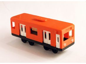 Parametric Tram/Metro Coach With Articulated Doors