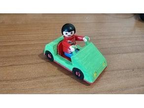 Playmobil kids mini car