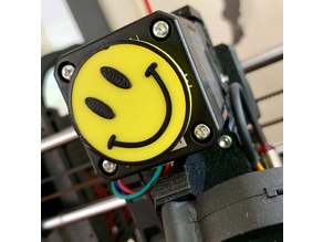 Smiley Face - Extruder Spinner