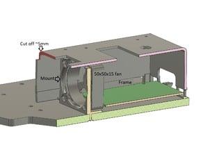 Ender-2 50mm Motherboard fan