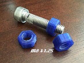 M8 x 1.25 Nut