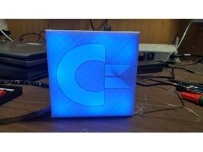 Commodore Logo RGB LED Lit Sign