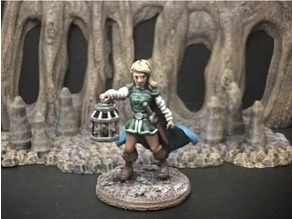 Wenda, Novice Adventurer (28mm/Heroic scale)