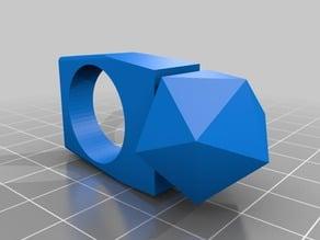 Icosahedron ring