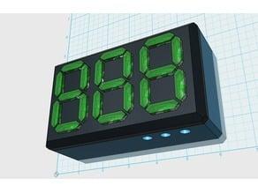 3 Digit Digital Display Bezel and Case