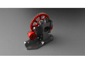 Hybrid Dual Color Single Hot End Extruder