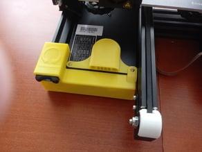 Przedni panel Ender 3 ze slotem na kartę SD i wskazówkami poziomowania / Ender 3 Cover with SD card slot and bed level tip