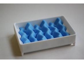 w~a~v~y  Soap Dish