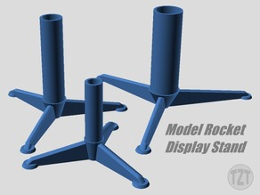 Customizer - Model Rocket Display Stand