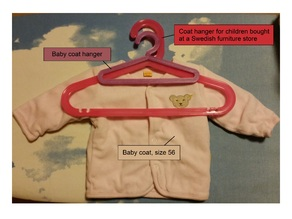 Baby Coat Hanger (Newborn, Infant)