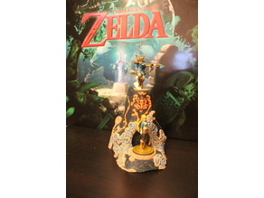 BOTW Shrine Amiibo Stand
