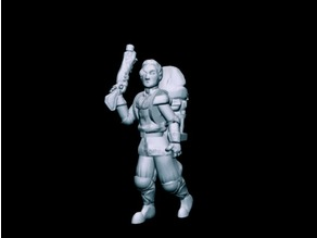 Hale, Inquisitive Artificer (32mm)