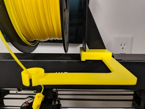 Wanhao or Monoprice Screwless filament guide