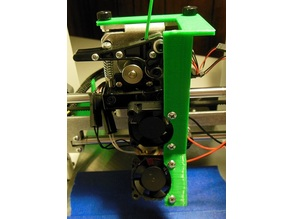 Printrbot Play fan mount 30mm Extruder plus 30mm PLA