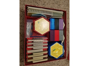 Settlers of Catan Organizer Insert- Cities & Knights, 6 players, All in one box