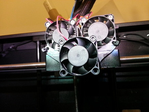 Replicator 2x filament cooling fan