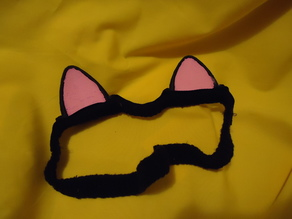Cat Ears With Sewing Loops