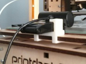 live cam sync hd holder for printrbot plus lc