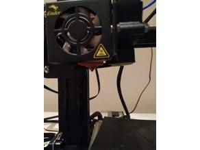Creality Ender 2/3 5015 Fan Holder + 5015 Fan Duct