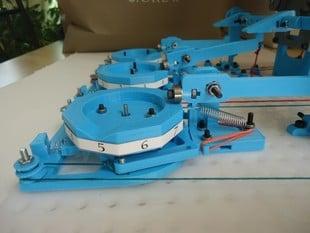 Bi-directional Mechanical Counter
