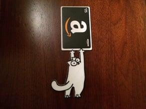 Simon's Cat Gift Card Holder